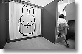 asia, bunny, curtains, hakone, horizontal, japan, kid, open air museum, photograph