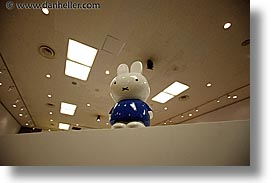 asia, bunny, hakone, horizontal, japan, office, open air museum, photograph