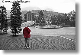 asia, hakone, horizontal, jackets, japan, open air museum, red, photograph