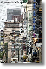 asia, city scenes, japan, kyoto, streets, vertical, wires, photograph
