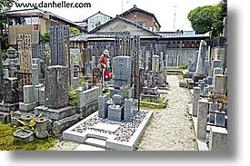 asia, graves, graveyard, horizontal, japan, japanese, koto in, kyoto, photograph