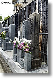 asia, graves, graveyard, japan, japanese, koto in, kyoto, vertical, photograph