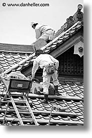 asia, japan, koto in, kyoto, roofers, vertical, zen, photograph