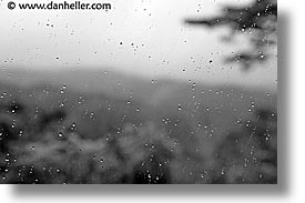 asia, black and white, droplets, horizontal, japan, kyoto, miho museum, windows, photograph