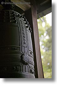 ancient, asia, bells, japan, kyoto, ryoanji temple, vertical, photograph