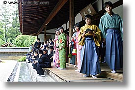 asia, childrens, formal, horizontal, japan, kyoto, ryoanji temple, photograph