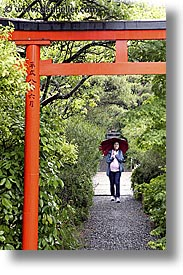 asia, gates, japan, jills, kyoto, ryoanji temple, torii, vertical, photograph