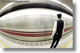 asia, cars, fast, fisheye lens, horizontal, japan, slow exposure, subway, photograph