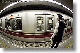 asia, cars, fast, fisheye lens, horizontal, japan, subway, photograph