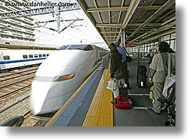 asia, bullet, horizontal, japan, speeding, trains, transportation, photograph