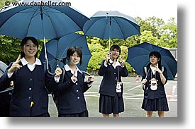 asia, girls, high, horizontal, japan, people, school, photograph