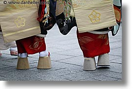 asia, geisha, horizontal, japan, people, shoes, womens, photograph