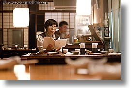 asia, diners, horizontal, japan, japanese, people, slow exposure, womens, photograph