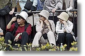 asia, hats, horizontal, japan, people, womens, photograph