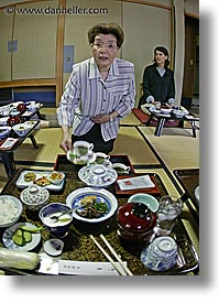 asia, fisheye lens, foods, japan, nagase, serving, takayama, vertical, photograph