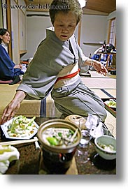 asia, foods, japan, japanese, nagase, serving, takayama, vertical, photograph