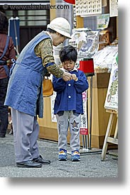 asia, boys, japan, old, people, takayama, vertical, womens, photograph