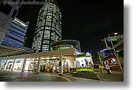 asia, cityscapes, horizontal, japan, nite, shops, slow exposure, tokyo, photograph