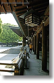 asia, hangings, japan, kanto, lamps, meiji shrine, tokyo, vertical, photograph