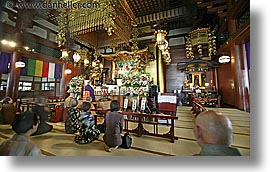 asia, horizontal, japan, japanese, kanto, praying, sensoji temple, slow exposure, tokyo, photograph