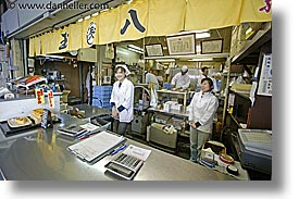asia, cafes, horizontal, japan, kanto, streets, tokyo, workers, photograph