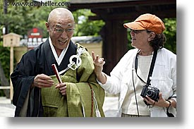 asia, dorothy, horizontal, japan, priests, tour group, zen, photograph