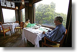 asia, breakfast, david, horizontal, japan, leslie, tour group, photograph