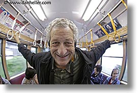asia, david, fisheye lens, horizontal, japan, tour group, trains, photograph