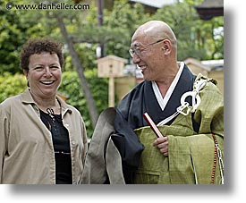 asia, horizontal, japan, leslie, priests, tour group, photograph