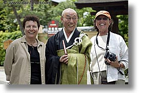 asia, dorothy, horizontal, japan, leslie, priests, tour group, photograph