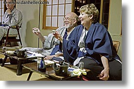 asia, charlott, charlotte, dining, fred, horizontal, japan, tour group, photograph