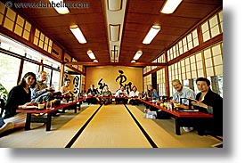 asia, groups, horizontal, japan, meal, tour group, photograph