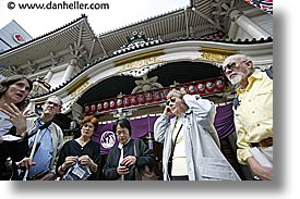 asia, groups, horizontal, japan, listening, tour group, photograph