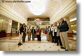 asia, groups, horizontal, japan, keio, lobby, plaza, tour group, photograph