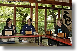 asia, flutist, groups, horizontal, japan, lunch, tour group, photograph