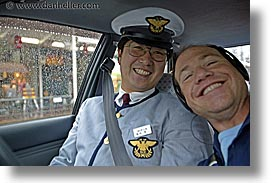 asia, cabbie, dans, horizontal, japan, tour group, photograph