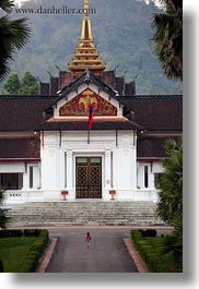 asia, buildings, laos, luang prabang, museums, palace, vertical, photograph