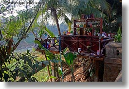 asia, bars, buildings, cliffs, horizontal, laos, luang prabang, stores, photograph
