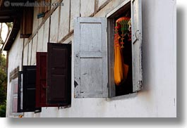 asia, horizontal, laos, luang prabang, shutters, windows, photograph