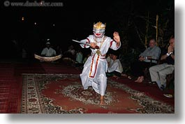asia, asian, costumes, dance, dancers, horizontal, laos, luang prabang, people, photograph