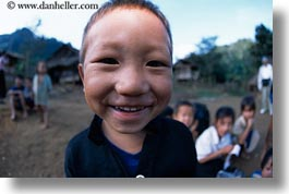 asia, asian, boys, emotions, hmong, horizontal, laos, people, poverty, smiles, villages, photograph