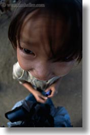 asia, asian, girls, hmong, laos, people, vertical, villages, photograph