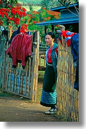 asia, asian, hmong, laos, people, poverty, vertical, villages, womens, photograph