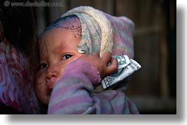 asia, asian, babies, bills, dollar, emotions, hmong, horizontal, laos, people, poverty, sad, sick, villages, photograph