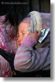asia, asian, babies, bills, crying, dollar, emotions, hmong, laos, people, poverty, sad, sick, vertical, villages, photograph