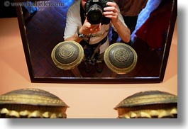 asia, david, horizontal, kathmandu, mirrors, museums, nepal, stars, photograph