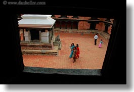 asia, courtyard, horizontal, kathmandu, museums, nepal, womens, photograph