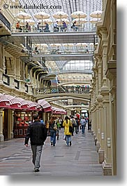 asia, buildings, interiors, mall, moscow, russia, rym shopping mall, vertical, photograph