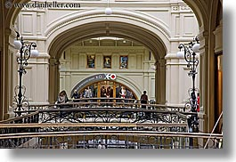 asia, buildings, horizontal, interiors, mall, moscow, russia, rym shopping mall, photograph