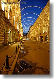 asia, buildings, lights, mall, moscow, nite, russia, rym shopping mall, slow exposure, vertical, photograph